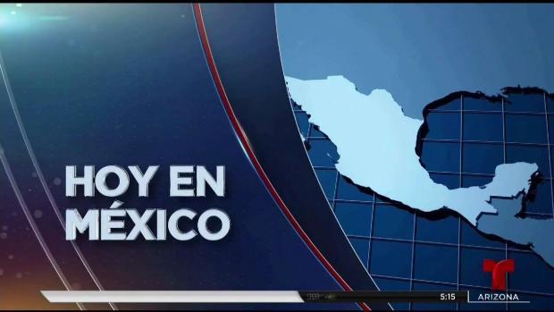 [TLMD - LV] Alerta amarilla a fase tres por volcán en México