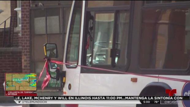 [TLMD - Chicago] Balean a menor cuando viajaba en un autobús de la CTA