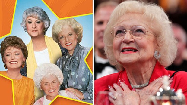 "Betty White, última sobreviviente de las ""Golden Girls"", cumple 97"