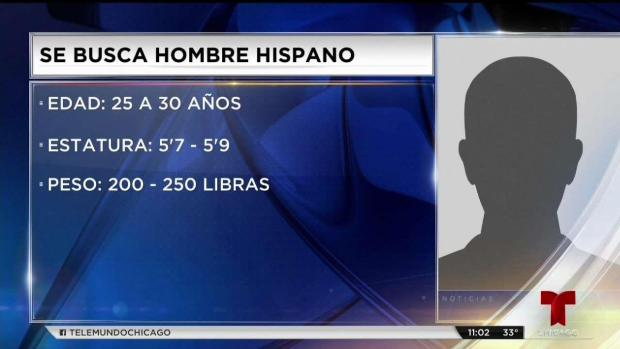 Buscan hispano por intento de robo y ataque sexual en Brighton Park