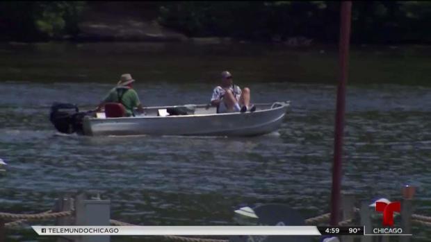 [TLMD - Chicago] Buscan a hombre que cayó al río Des Plaines