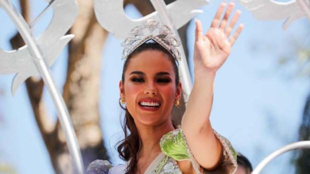 Miss Universo provoca caos en recibimiento en Filipinas