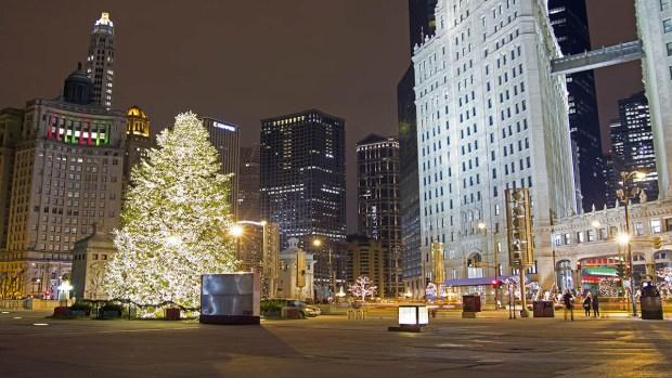 ¡Se enciende la Navidad en Chicago y alrededores!