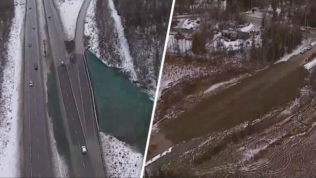 [TLMD - NATL] Desde el aire: Alaska a una semana del terremoto