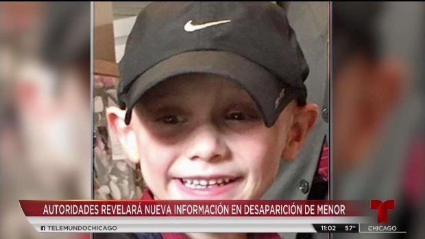 Policía se pronuncia sobre caso de niño desaparecido