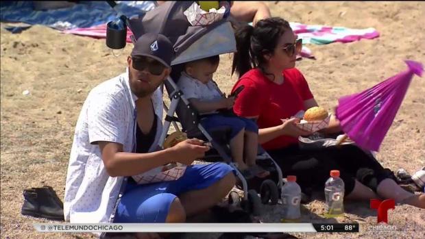 [TLMD - Chicago] Cuidado con la ola de calor el fin de semana