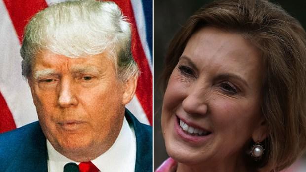 "Video: Donald Trump critica la ""cara"" de Carly Fiorina"