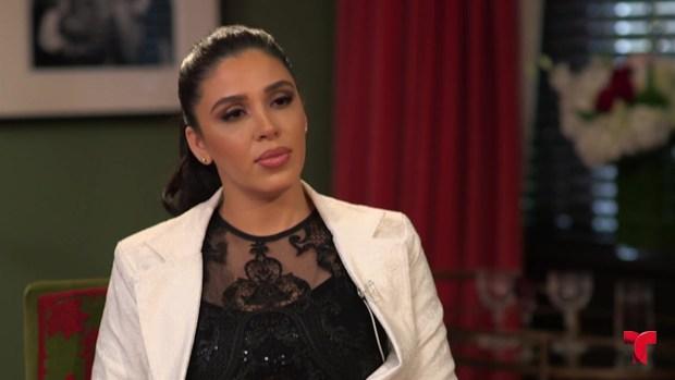 Emma Coronel habla de sus hijas y religión