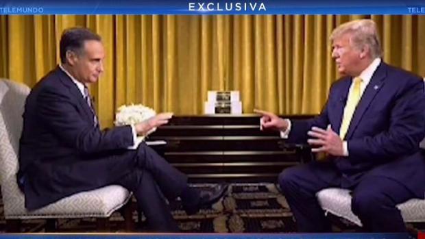 [TLMD - MIA] Entrevista exclusiva con el presidente Trump