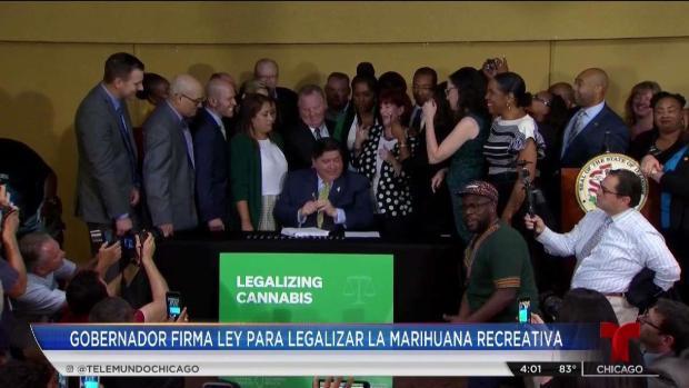 Illinois legaliza el uso de la marihuana recreacional