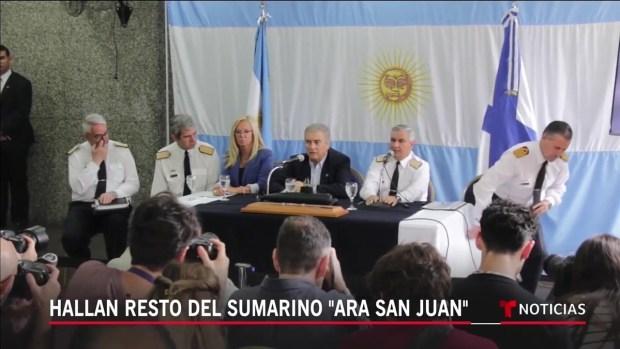 """[TLMD - LV] Hallan restos del submarino """"ARA San Juan"""""""