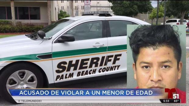 [TLMD - MIA] Hispano acusado de violar a menor de edad