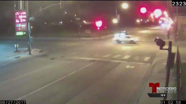 Impactante video capta mortal persecución en Chicago