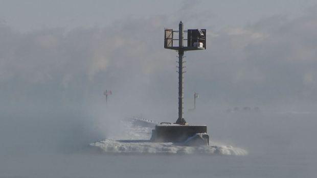 [TLMD - Chicago] Alucinantes imágenes del brutal frío en Chicago