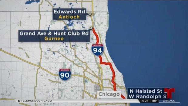 Mortal persecución tas intento de robo de auto al norte de Chicago
