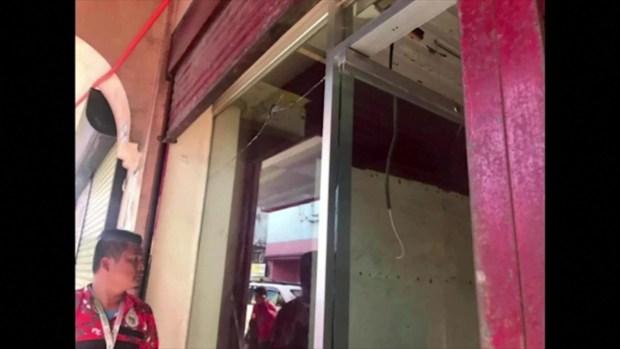 [TLMD - NATL] Momentos después de explosión en mercado filipino