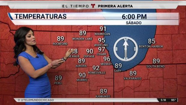 [TLMD - Chicago] Mucho cuidado con el calor intenso en Chicago