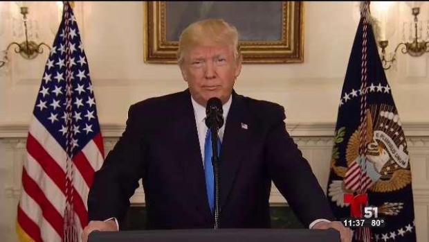 [TLMD - MIA] Presidente Trump reacciona a tiroteo contra congresista