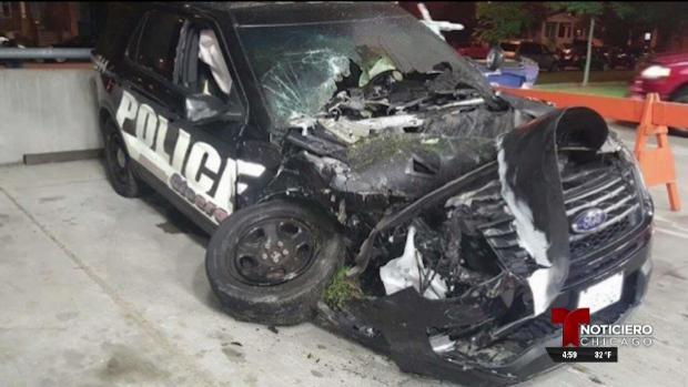 Piden ayuda para oficial de la policía de Cicero gravemente herido