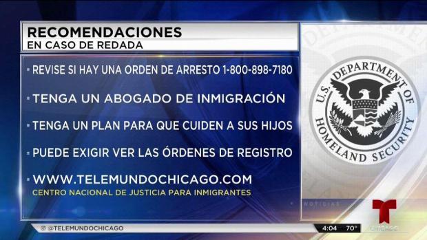 Chicago se alista ante posibles redadas de ICE
