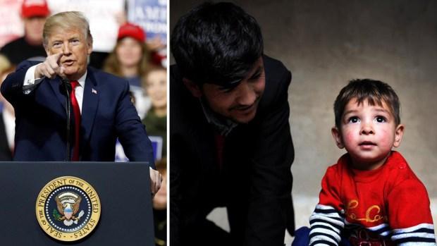 Por llamar a su hijo Donald Trump, mira lo que una familia sufre