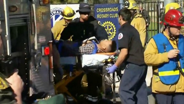 Escalofriantes imágenes de la masacre en San Bernardino