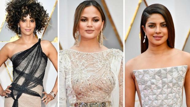 Las más sexys en la alfombra roja de los Oscar