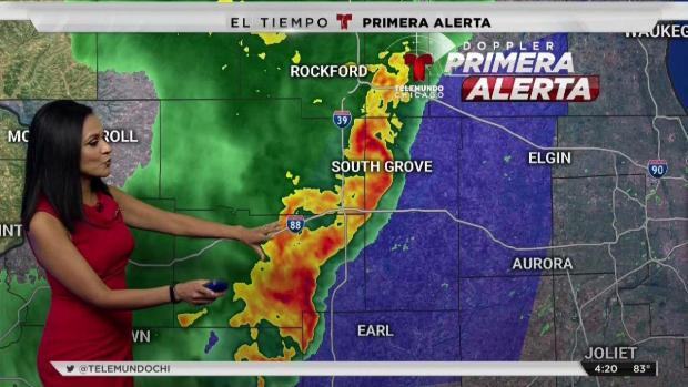 Tormentas severas se encaminan a Chicago la noche del martes