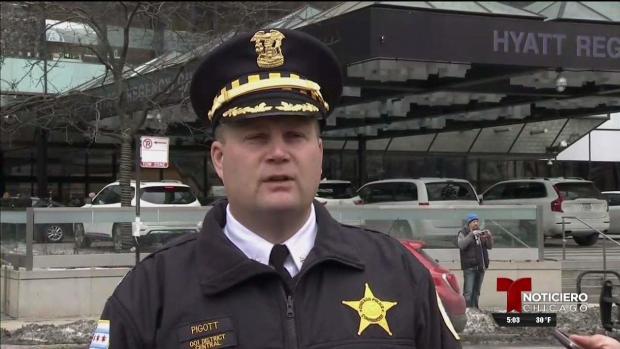 [TLMD - Chicago] Tres personas heridas en incidente en céntrico hotel