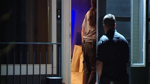 [TLMD - LV] Autoridades allanan una vivienda cerca de parque donde se quedó Mackenzie Lueck