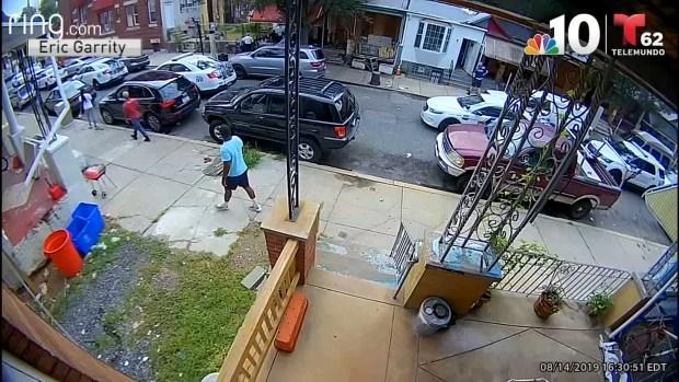 [TLMD - PHI] Impactante video de vigilancia del inicio del enfrentamiento