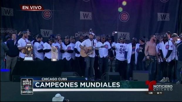 [TLMD - Chicago] Los campeones cantan ¡Go Cubs Go!