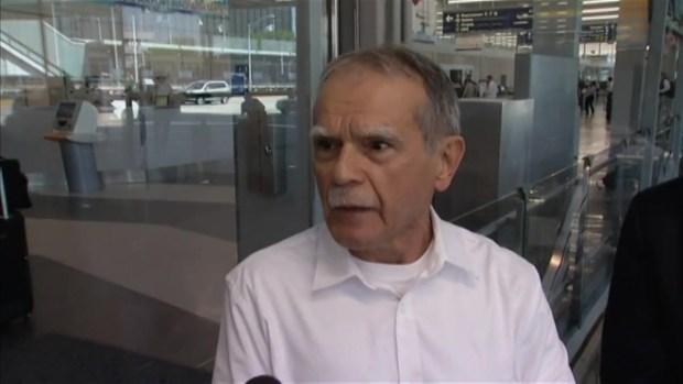 Exclusiva: Primeras declaraciones de Oscar López al llegar a Chicago