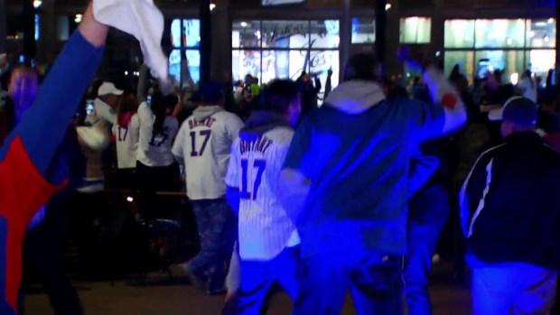 [TLMD - Chicago] Los fans celebran la victoria de los Cubs