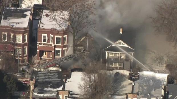 [TLMD - Chicago] Heridos bomberos al oeste de Chicago