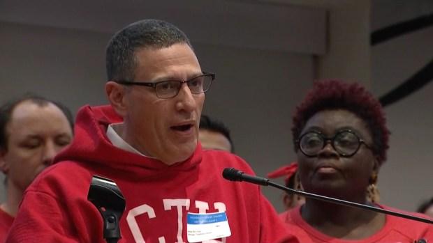 Habla el presidente de la CTU Jesse Sharkey tras no llegar a un acuerdo