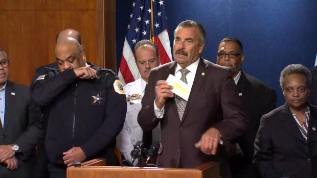 Nombran jefe interino de la policía de Chicago