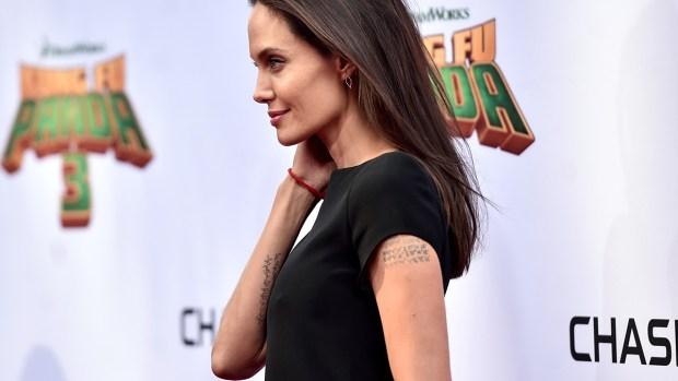 Fotos: Angelina Jolie sorprende por su delgadez