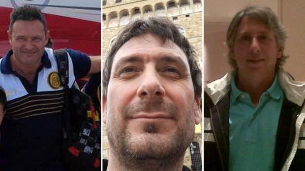 Las víctimas argentinas: arquitectos unidos por la amistad