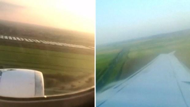 [TLMD - LV] Aterrador: pasajero graba aterrizaje que dejó heridos