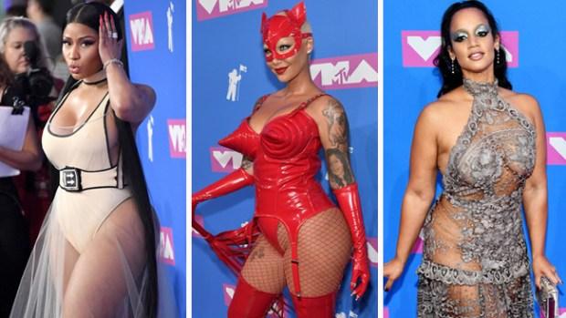 Curvas, transparencias y hasta una diablita: las más atrevidas de los premios MTV