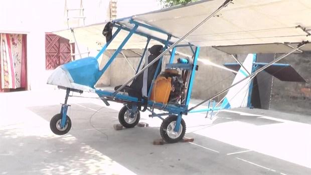 [TLMD - LV] Vendedor construye un avión por $600