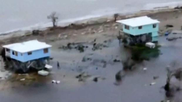 """Irma deja """"devastación total"""" en la isla de Barbuda"""