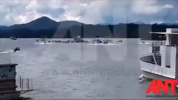 Catástrofe en Colombia al hundirse barco con turistas