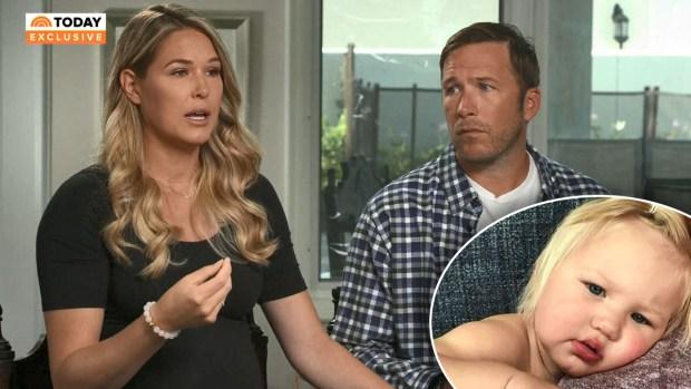 Atleta olímpico y su esposa embarazada rompen el silencio sobre la trágica muerte de su bebé de 19 meses