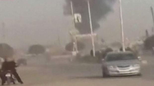En video: bombazos turcos sacuden partes de Siria