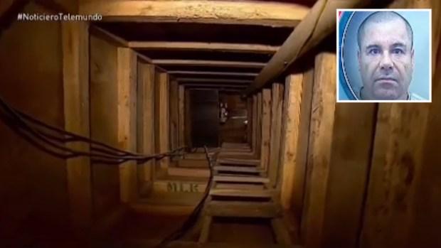 """""""El Chapo"""" y el túnel: su increíble fuga"""