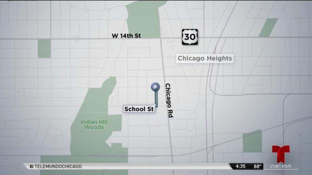 Chicago Heights: hieren de bala a niña de 3 años dentro de auto