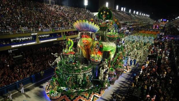 Cierra el carnaval más grande del mundo