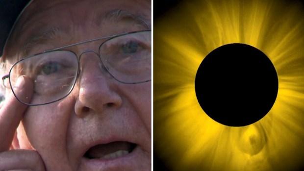 Hombre que sufrió graves lesiones advierte sobre eclipse